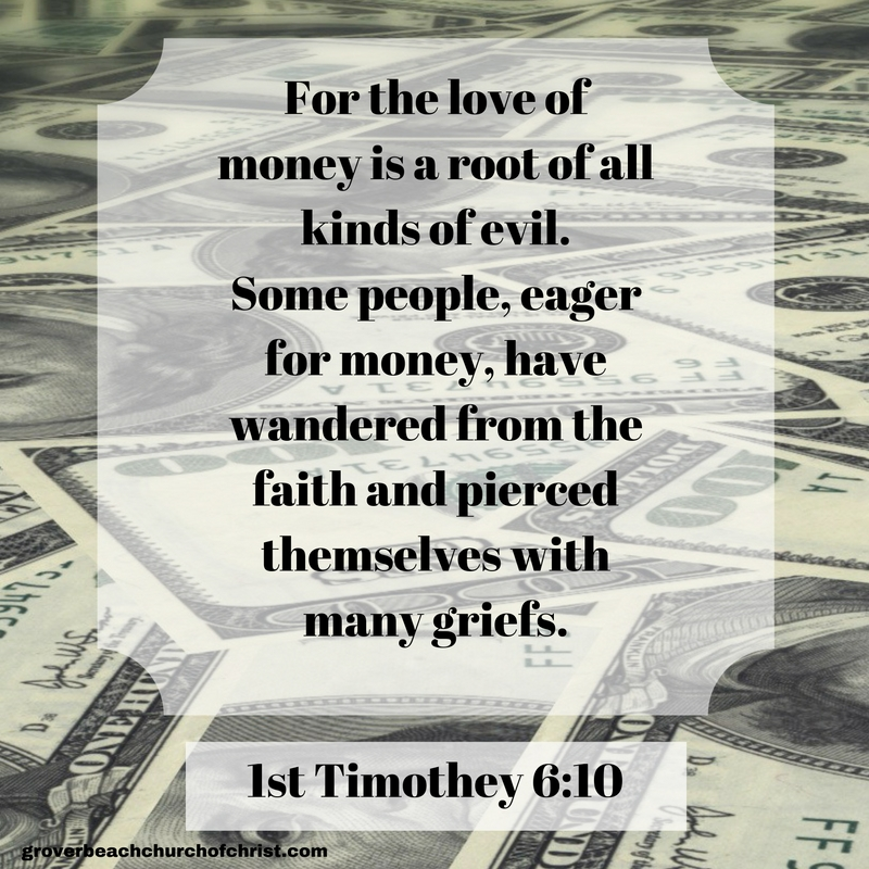 1st Tim 6:10