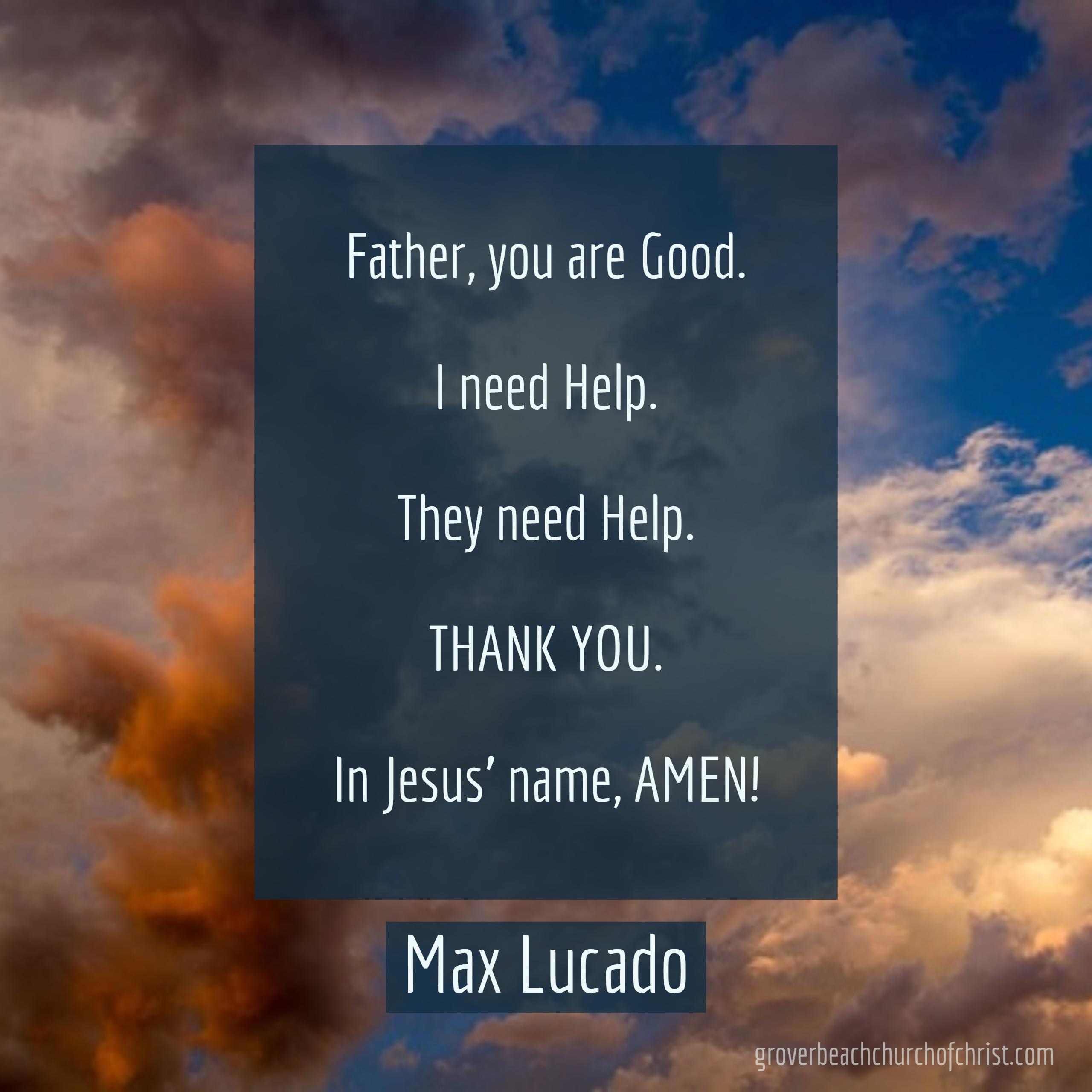 lucado-father-you-are-good